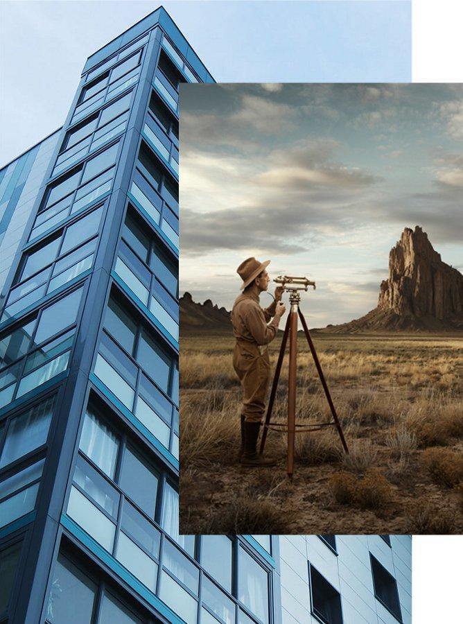Geodet - zameranie pozemku, vytyčovanie stavieb